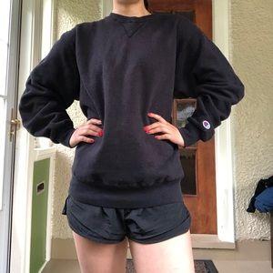 Black champion sweatshirt!